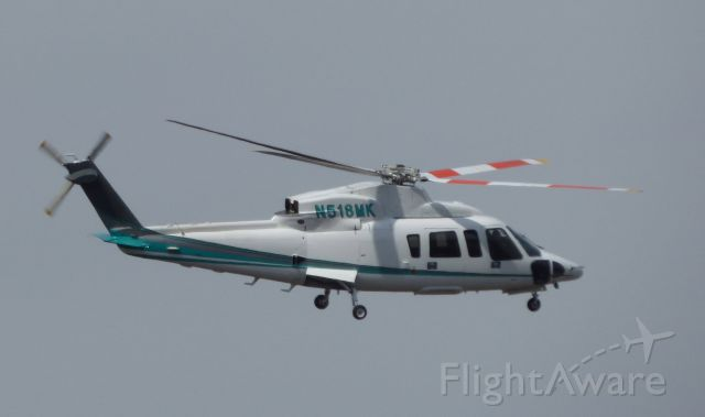 Sikorsky S-76 (N518MK) - Shown here is a Sikorsky S76 Helo on this VFR day in the Spring of 2016.