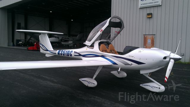 Diamond DA-20 (N351DC) - Being picked up to be flown to its new home base from KJYO to KERI!