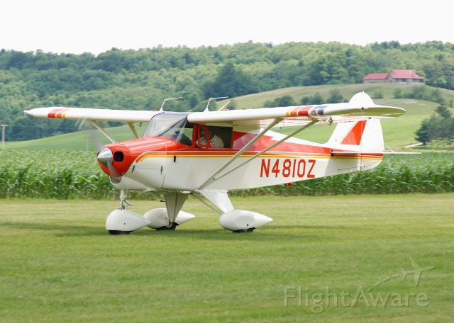 Piper PA-20 Pacer (N4810Z) - Nice looking Tripacer.