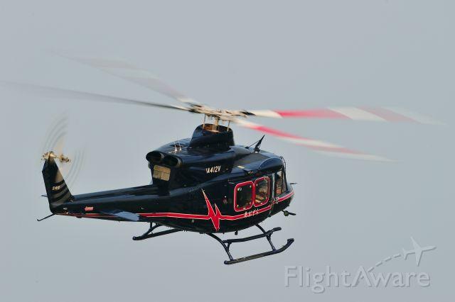 JA412V — - Bell 412HPbr /鹿児島国際航空