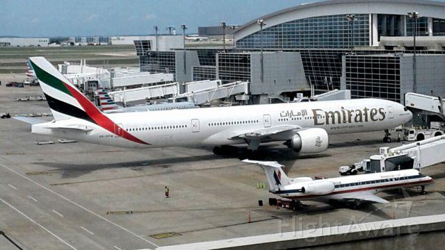 Boeing 777-200 — - Prepareing Departure to Dubai.