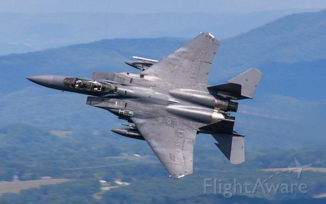 McDonnell Douglas F-15 Eagle —