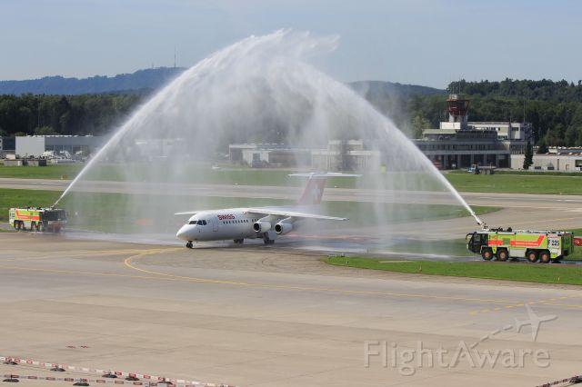 Avro RJ-100 Avroliner (HB-IYZ)