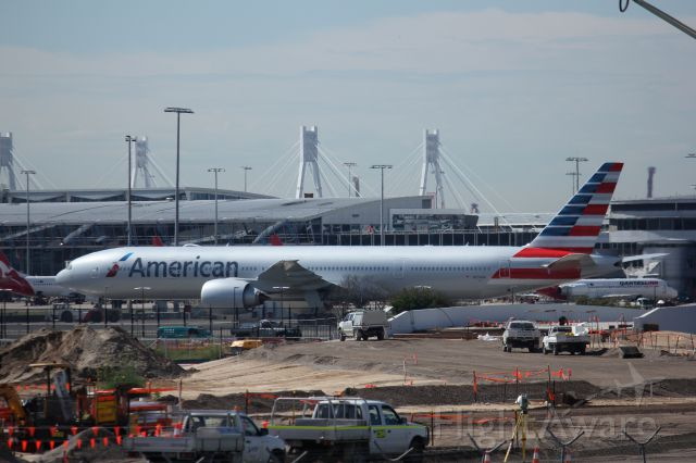BOEING 777-300 (N734AR) - American Airlines debut 77W flight to Sydney as part of there tour.