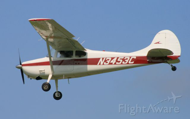 Cessna 170 (N3453C) - 1954 Cessna 170