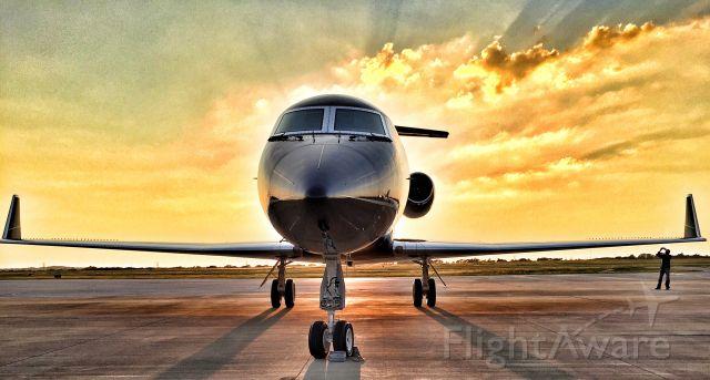 Gulfstream Aerospace Gulfstream 3 (N510FR) - Amazing Sunrise