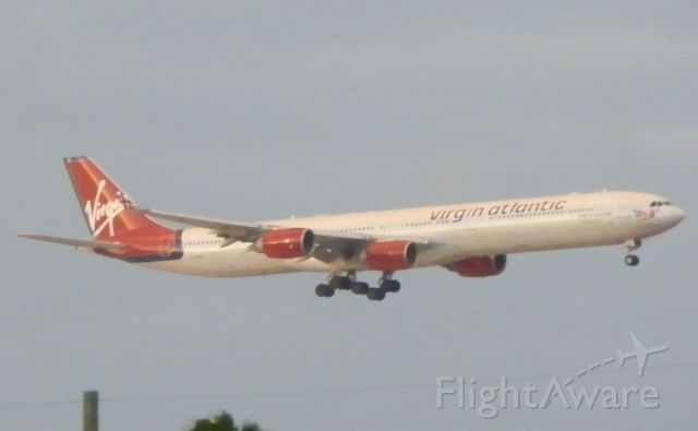 Airbus A340-600 (G-VYOU)
