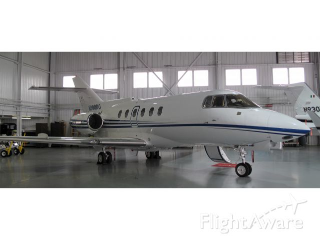 Hawker Siddeley HS-125-400 (N800RG) - No location as per request of the aircraft owner.