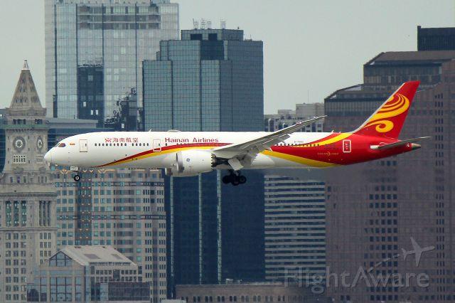 B-7880 — - Hainan 481 from Beijing arriving in Boston