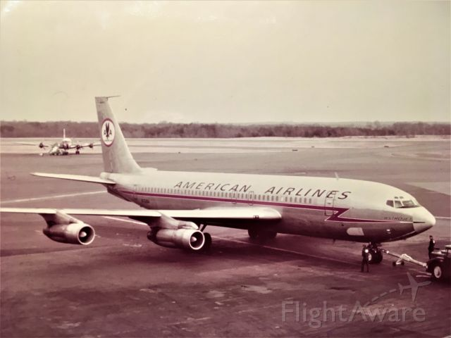 Boeing 707-100 — - Taken from the observation deck at Baltimore Friendship Airport, 1970