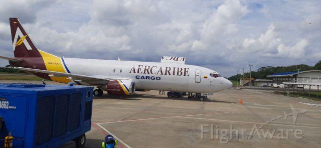 Boeing 737-700 (HK5197) - Montería Córdoba, transportando mercancías