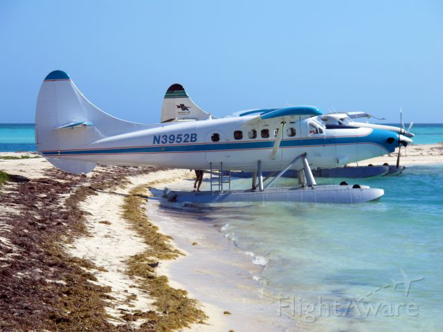 De Havilland Canada DHC-3 Otter (N3952B) - Fort Jefferson on Garden Key in Dry Tortugas National Park