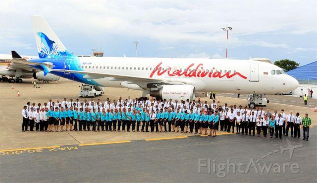 Airbus A320 (8Q-IAN)