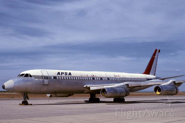 N990AB — - Aerolineas Peruanas SA Convair 990 N990AB at Mojave, California on May 5, 1980