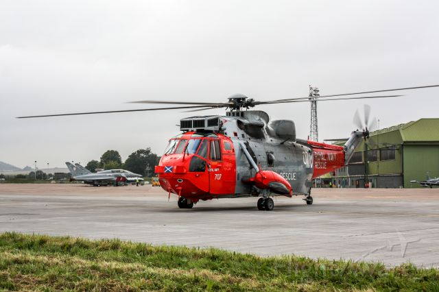 XZ920 — - Depart Leuchars RAF base after the airshow.
