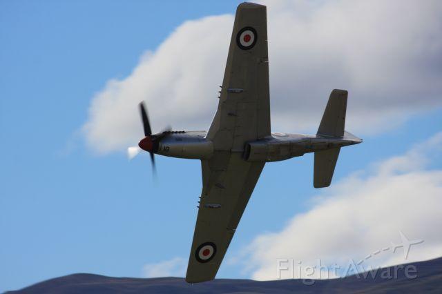 — — - P51D NZ 2415 (ZK-TAF)at Wanaka NZ 2012