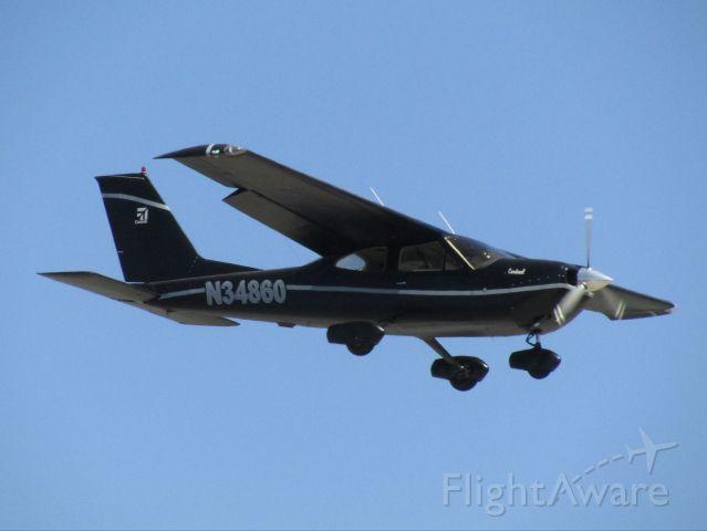 Cessna Cardinal (N34860) - Landing RWY 20R