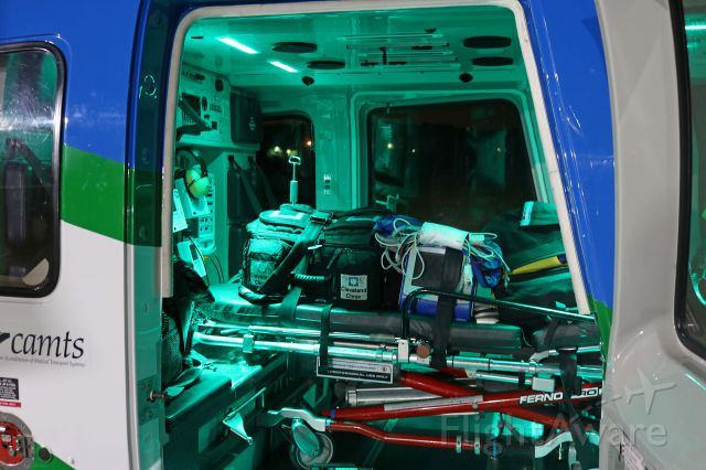 Sikorsky S-76 (N759P) - Patient care area inside the Sikorsky S-76C+