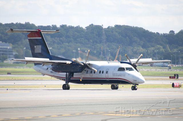 de Havilland Dash 8-100 (N807EX) - N807EX  DHC-8-102  PDT  KDCA  20121010