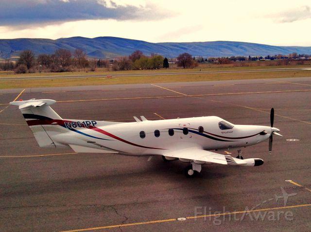 Pilatus PC-12 (N861PP)