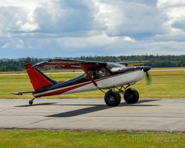 AMAX Sport 1700 (N935SP) - East side of runway 16 @ KAWO