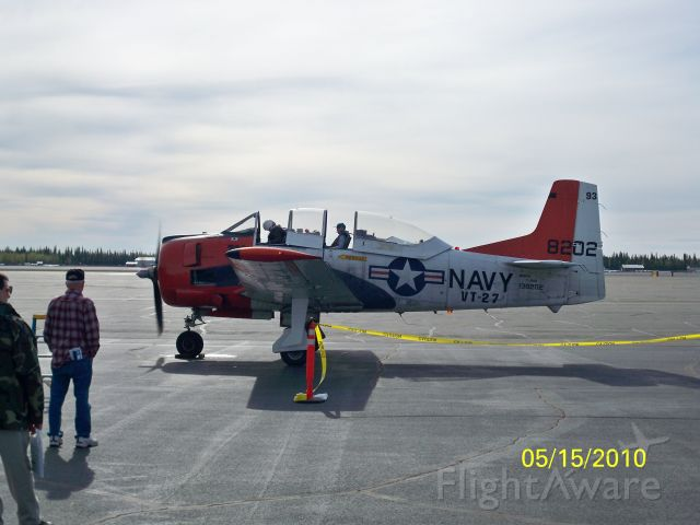— — - T-28B Start up.