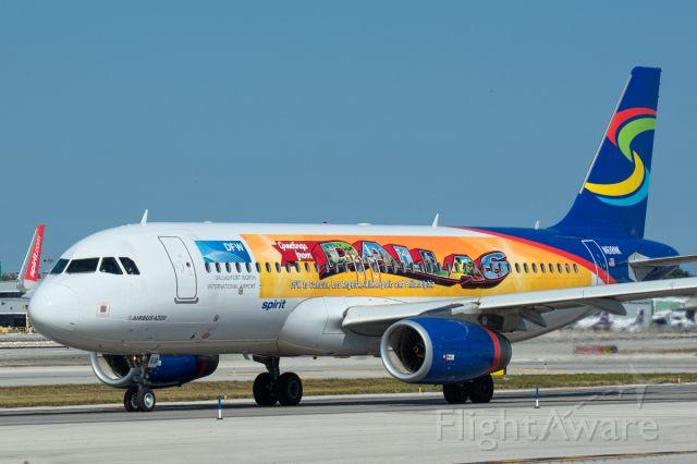 Airbus A320 (N618NK)