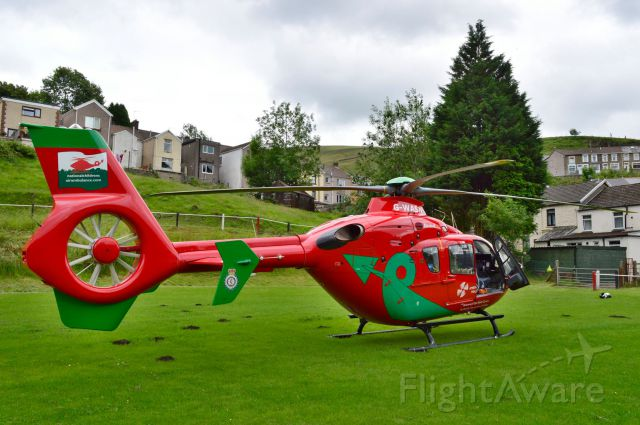G-WASN — - Welsh Air Ambulance