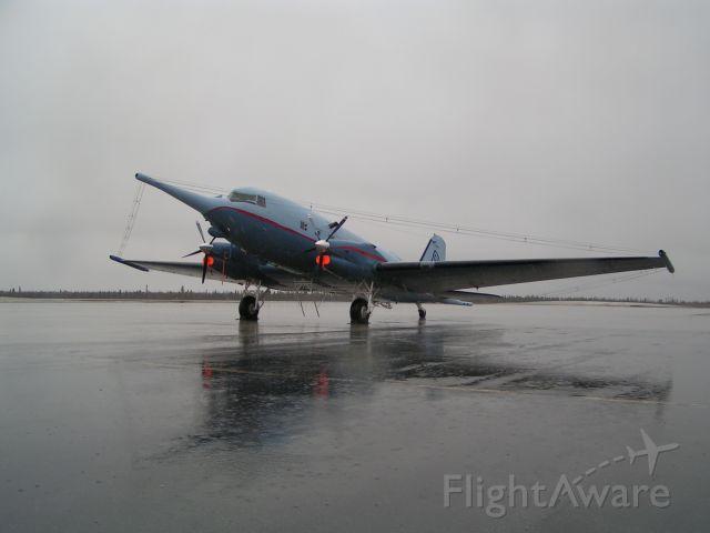 Douglas DC-3 (ZS-ASN) - A long way from home