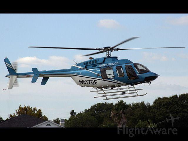 Bell JetRanger (N817DF) - Tampa Police