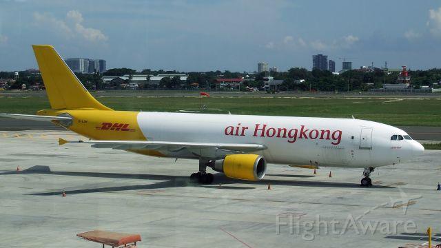Airbus A300F4-600 (B-LDH) - Air Hongkong A300F4-605R B-LDH at Cebu Mactan Airport Philippines 21 Nov 2019