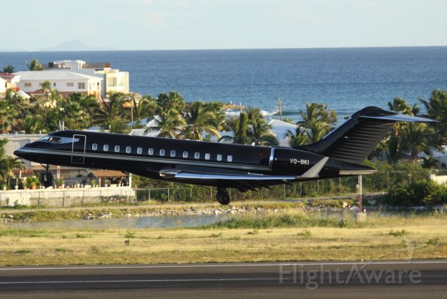 Bombardier Global Express (VQ-BKI)