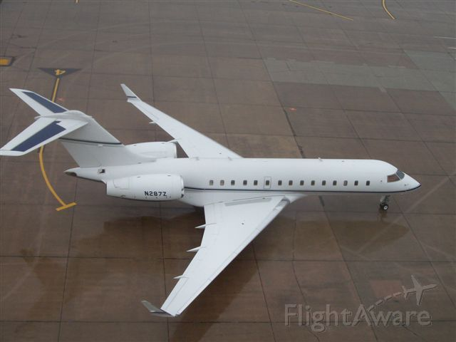 Bombardier Global Express (N287Z) - Date taken August 9, 2008