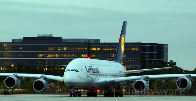 """Airbus A380-800 (D-AIMJ) - named """"Brussel"""""""