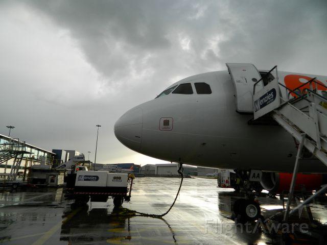 Airbus A319 (G-EZAA) - 13.05.2014
