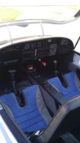Experimental 100kts-200kts (N785TT) - Cockpit of the Falcon LS. Available for training or rental at Renegade Light Sport. 120 KT Cruise at 5.5 GPH. Dynon and Garmin Avionics.