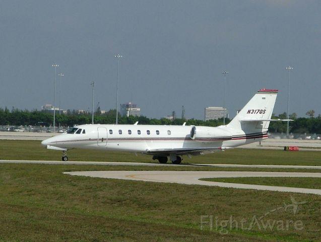 Cessna Citation Sovereign (N317QS)