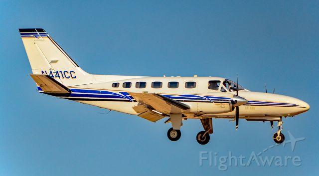 Cessna Conquest 2 (N441CC) - N441CC Cessna 441 Conquest ll Propjet Dash 10 s/n 441-0008 - North Las Vegas Airport (IATA: VGT, ICAO: KVGT, FAA LID: VGT)<br />Photo: Tomas Del Coro<br />November 17, 2018