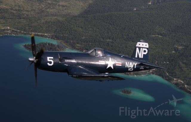 — — - Air to Air Over lake west of Kalispell MT