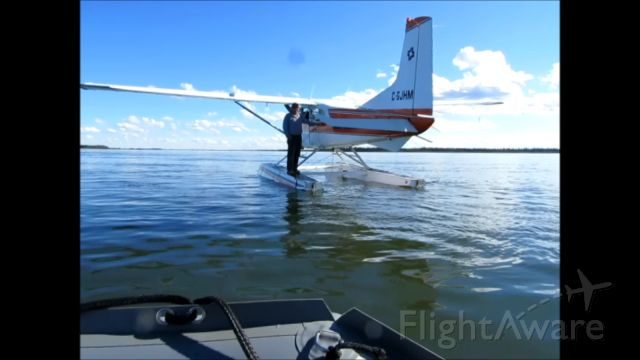 C-GJHM — - on Great Slave Lake, Northwest Territories Canada August 23, 2013. On a fishing trip at the mouth of the MacKenzie River. Northwest of Hay River CYHY