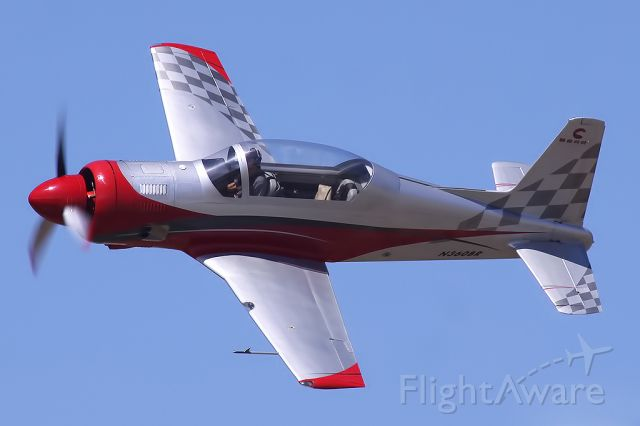 R & B RB-4 Bearhawk (N360BR) - Skip Holm in his Bear 360.