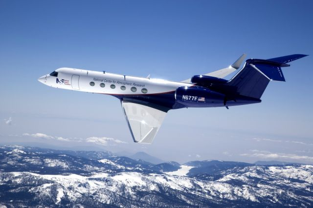Gulfstream Aerospace Gulfstream V (N677F) - HIAPER | National Center for Atmospheric Research | National Science Foundation Modified Gulfstream 5, Experimental