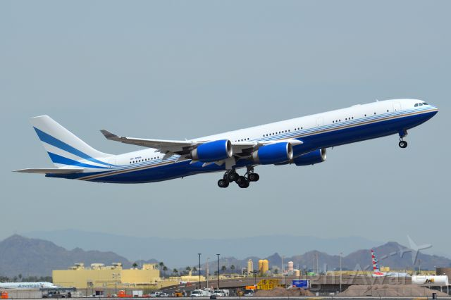 Airbus A340-500 (VP-BMS)