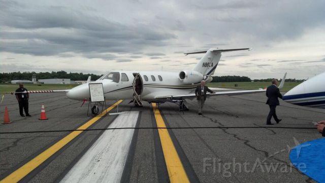 N86LA — - Tamarack Aerospace's CE525 @ NBAA regional,White Plains, NY 06/2013