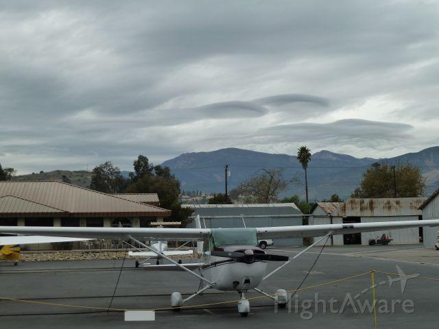 Cessna Skyhawk (CLOUDS)