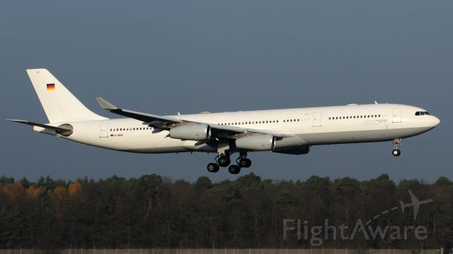 Airbus A340-300 (D-AIGZ) - Ebola Evacuation Aircraft - operated by Lufthansa - on behalf of German Government