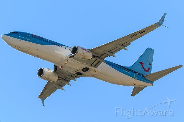 Boeing 737-800 (OO-JAV)