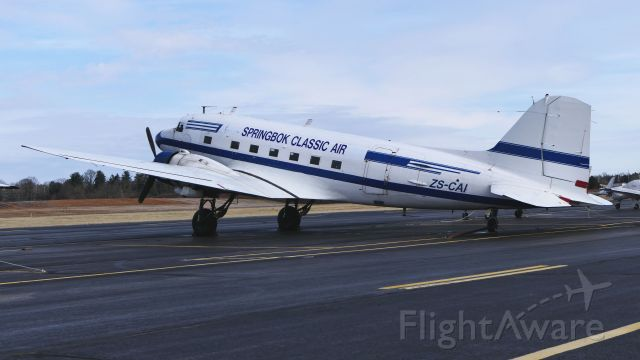 Douglas DC-3 (ZS-CAI)