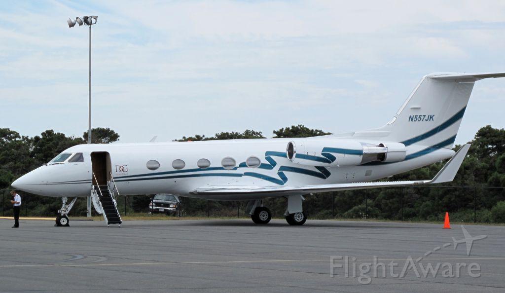 Gulfstream Aerospace Gulfstream 3 (N557JK) - Note the stage III hush kits.