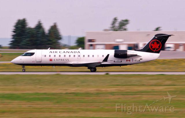 Canadair Regional Jet CRJ-100 (C-FIJA) - On it
